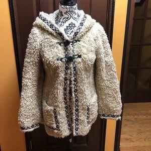 Free People Fuzzy Sherpa Jacket